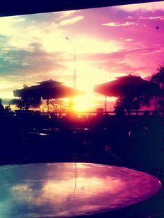 lomography: sunset