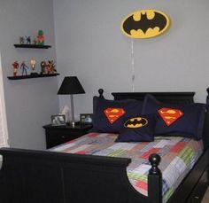 simple superhero bedroom ideas