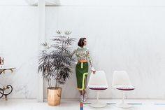 Pari Ehsan Visits the Eero Saarinen Miller House