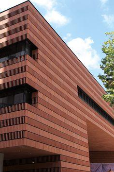 Hengshan Hotel ,shanghai - LOPO China   Terracotta Facade Panel Manufacturer