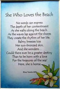 Quotes Sayings and Affirmations She who loves the beach. Ocean Quotes, Me Quotes, Beach Quotes And Sayings, Aloha Quotes, Seaside Quotes, Crush Quotes, Beach Life Quotes, Florida Quotes, Surf Quotes