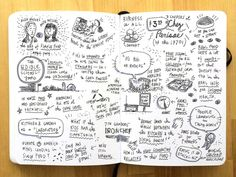 Sketch Blog: Alice Waters and Ruth Reichl in conversation at the Art Institute of Chicago, April 2014.