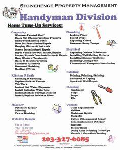 Home Improvement Ideas Business Marketing, Business Tips, Cleaning Business, Business Motivation, Business Cards, Handyman Logo, Mirror Artwork, Leaking Pipe, Handyman Projects