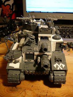 Ork Battle Fortress Konversion