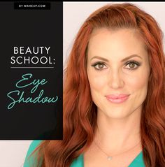 School is in session! Beauty guru Elyse Reneau gives us the low-down on all things eye shadow. Check out her video and see how to get some glamorous eye makeup looks!