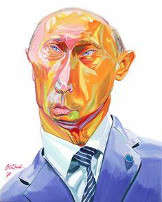 Putin by Philip Burk