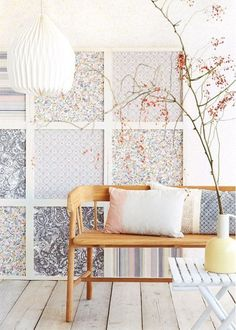 How To Hang Wallpaper in Unconventional, Creative Ways