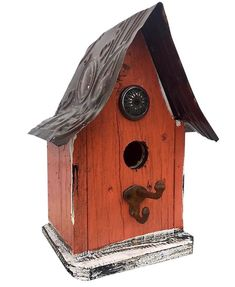 Barn Wood and Tin Birdhouses are bird-approved for lasting use. Handmade Rustic Birdhouse features sealant and easy clean-out, ideal for indoor decor too. Vintage Drawer Pulls, Vintage Drawers, Bird House Kits, Bird Aviary, House Gifts, Kit Homes, Barn Wood, Bird Houses, Blue Bird