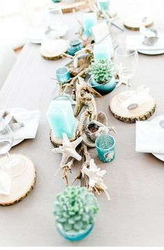 98 best beach table decorations images in 2019 beach table rh pinterest com