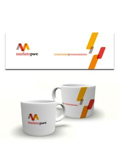 Cliente: PwC PricewaterhouseCoopers   Proyecto: Diseño para Taza promocional Markets PwC