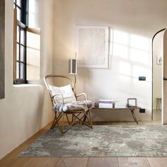 A soft underfoot, viscose cut pile collection with a modern abstract corrosion design available in two colourways and one size only. Hertex Fabrics, Fabric Suppliers, Wishbone Chair, Modern Rugs, Upholstery, Flooring, Interior Design, Abstract, Furniture