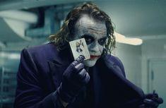 The Dark Knight. Heath Ledger's interpretation of the Joker was both fantastic and eerie.