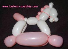sculpture de ballons | Ballons sculptés: Cheval en ballons
