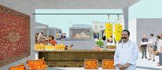 Ctrl + Space Istambul market competition proposal by Alexandra Kvasnicova & Philipp Hildebrandt