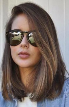 66 beautiful long bob hairstyles with layers for 2018 Best Picture For long hair cuts ombre For Your Low Maintenance Haircut, Haircut For Thick Hair, Haircut Medium, Long Bob Hairstyles For Thick Hair, Hairstyle Short, Haircut For Medium Length Hair, Shorter Length Hair, Mens Haircuts Straight Hair, Hair Trends