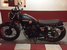 Moto honda cm 125 preparee par dauphine lamarck Motos Paris - leboncoin.fr