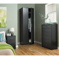 Buy Cheval 3 Drawer Bedside Chest - Black at Argos.co.uk - Your Online Shop for Bedside cabinets.