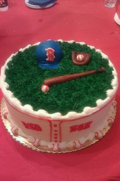 This cake was a home run for Liam's 6th birthday!