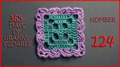365 Days of Granny Squares Number 124