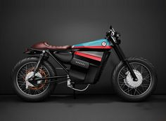 honda electric café racer concept fuses classic styling with battery power