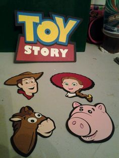 Used the cricut toy story cartridge