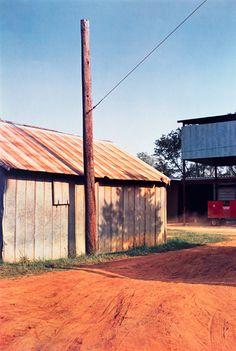 William Eggleston, Untitled (Red earth road), 1976