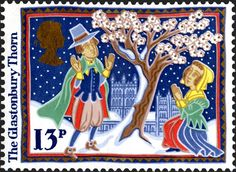 Royal Mail Special Stamps | The Glastonbury Thorn