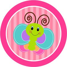 Spruce up any event with spectacular stickers Butterfly Clipart from Zazzle. Butterfly Birthday Party, Butterfly Baby Shower, Party Printables, Free Printables, Candy Bar Labels, First Birthday Party Decorations, Butterfly Clip Art, Cute Clipart, Bottle Cap Images