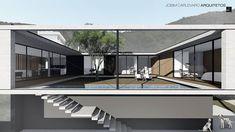 CASA PÁTIO em Santo Antônio de Lisboa, Florianópolis | 2016. #casa #arquitetura #casas #concreto #florianopolis #arquitetos #ideias #fachada #arquitectura #houses