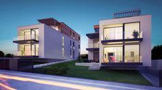 Nízkoenergetické mestské vily, Koliba | RULES architekti