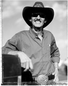 Richard Petty. Met at a Nascar Race....