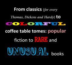 Fabulous books of every kind at FARA