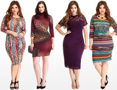 Fall Winter 2014 Plus Size Wedding Guest Dress from Fashion to Figure