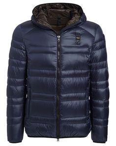 BLAUER Daunenjacke im sportlichen Stil - blau Jetzt auf kleidoo. de bestellen!  #kleidoo #fashion #shop #shoppingonline #men #boy #daunenjacke #blauer