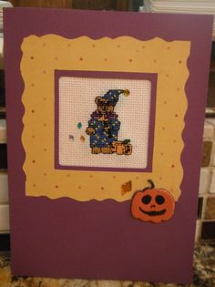 Handcrafted SCRAPBOOK Style Cross Stitch by CraftyCrossStitches, $7.99