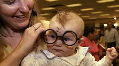 This baby Harry Potter fan grew up to be like Hermione GrangerRhiannon Braeger as Harry Potter in 2003.  Image: ASSOCIATED PRESS  By Jenni RyallAustralia2016-07-30 19:19:37 UTC  Taken in 2003 this adorable photograph of a six-month-old baby girl with her mum is a perfect example of early Harry Potter fandom.  The baby Rhiannon Braeger is now a 13-year-old girl in 8th grade. Thirteen years after being dressed as a baby Harry  complete with lightning bolt scar  Rhiannon has grown into a Harry…