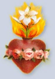 immaculate heart drawing - Google Search