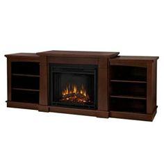 Real Flame Hawthorne Electric Fireplace - Dark Espresso