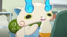 Koma san loves soft serve.