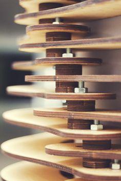 designcompute - Lasercut decorative columns [[MORE]]