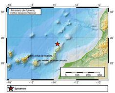 Terremoto Norte Lanzarote y La Graciosa, 4 abril
