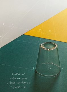 Geometry of a glass. Ad Design, Cover Design, Layout Design, Print Design, Layout Inspiration, Graphic Design Inspiration, Graphic Design Typography, Graphic Art, Marca Personal