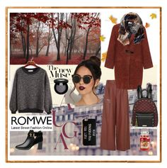"""""""With ROMWE"""" by explorer-14673103603 ❤ liked on Polyvore featuring TIBI, Bohème, Ted Baker, TravelSmith, River Island, Rouge Bunny Rouge and Yankee Candle"""