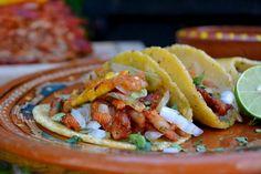 Tacos al pastor y salsa taquera ¡Excelente receta! | La Cocina Mexicana de Pily