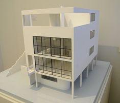 Le Corbusier. Citrohan House. 1920-22. #architecture #lecorbusier