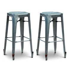 Buffalo Tools AmeriHome Bar Stool (Set of Metal Bar Stools, 30 Bar Stools, Hardwood Floors, Flooring, Industrial House, Bar Tools, Game Room, Actuel, Home Remodeling