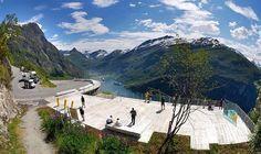 Lugares con vista. Camino del Águila, Noruega