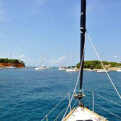 Happy Friday? Yeah I now what is it! When homeward we stop to splash at Vrgada...  #happyfriday #sailing #sailinglife #sail #sailor #sailyacht #croatia #sea #sun #sunshine #happy #happyness #summerday #beach #splash #beachsun #sailboat #tenger #summer #memories #vitorlázás #mik #ikozosseg #ihun #ihungary #instakozosseg #instahun #friday by radoczgabor