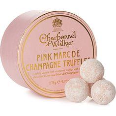 My absolute favorite truffles!!! - CHARBONNEL ET WALKER Pink champagne truffles 275g