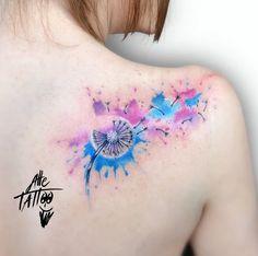 I Tattoo, Cool Tattoos, Colour Tattoo For Women, Beautiful Tattoos, Tattoos For Women, Watercolor Tattoo, Interesting Tattoos, Leone, Tattoo Ideas